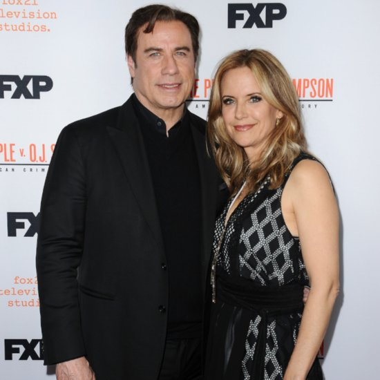 John Travolta Kelly Preston Red Carpet April 2016