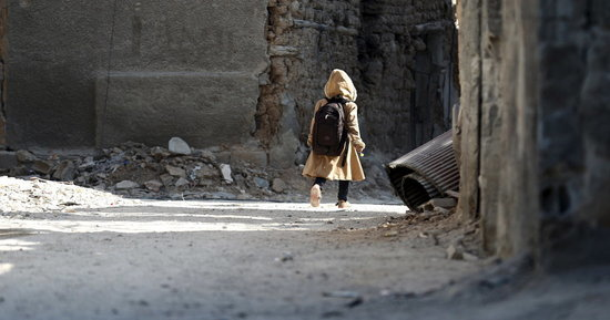 Children In Besieged Syrian Suburb Are Forced Out Of School And Into Work