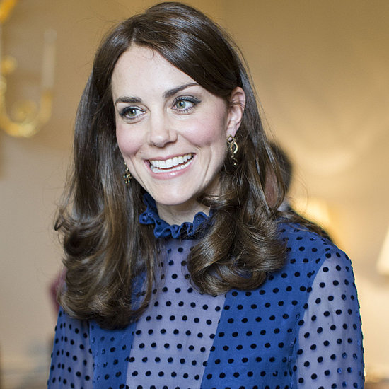 The Duchess of Cambridge in Saloni Gown at Palace Reception