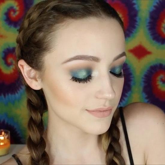 Kathleen Lights's Teal Halo Eye Makeup Tutorial