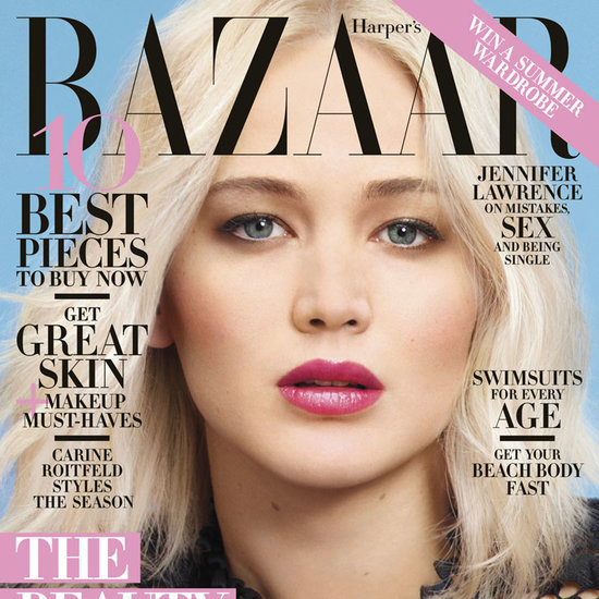 Jennifer Lawrence in Harper's Bazaar May 2016