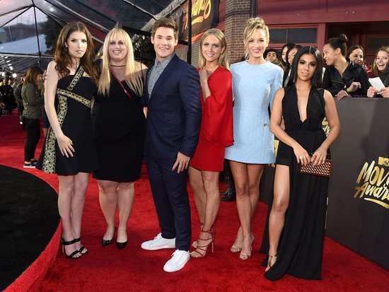 Pitch Perfect 2 Wins Best Ensemble at the MTV Movie Awards, Anna Kendrick Promises Trophy 'Is Going to Be Broken by the End of t