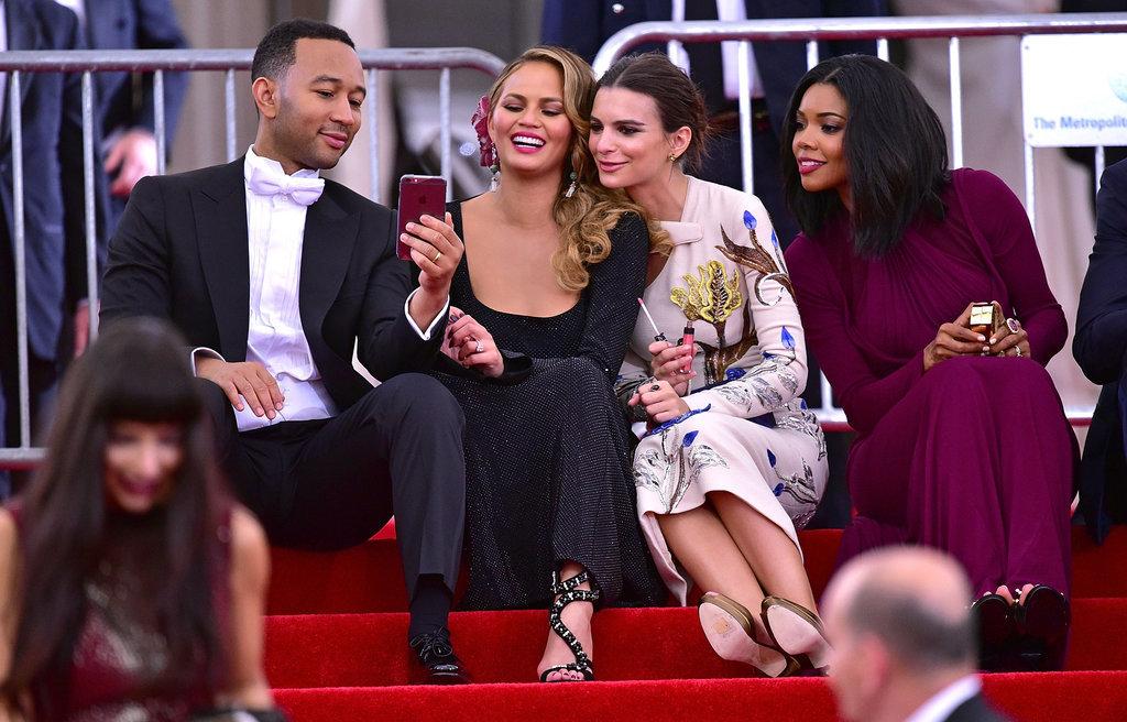 John Legend, Chrissy Teigen, Emily Ratajkowski, and Gabrielle Union — 2015