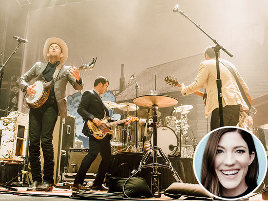 Jennifer Carpenter Is Fiancé Seth Avett's Biggest Fan at The Avett Brothers Concert in N.Y.C.