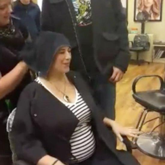 Hair Dye Gender Reveal Video