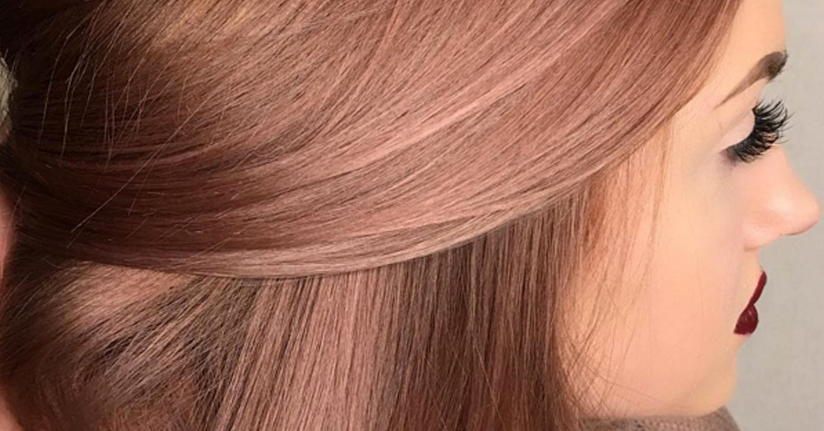 Box Hair Color Rose Gold