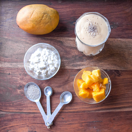 Easy Mango Protein Smoothie