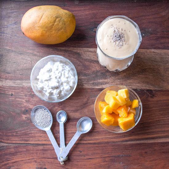 Easy Mango Protein Smoothie