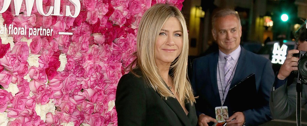 Jennifer Aniston Shows Off a Whole Lot of Leg on the Red Carpet