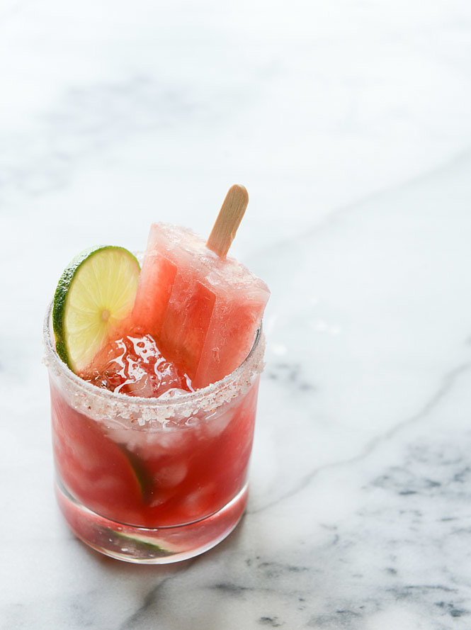Salted Watermelon Margarita Popsicles | Watermelon Beverages to Serve ...