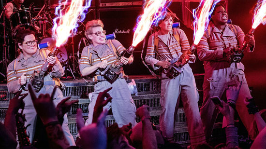 EXCLUSIVE: 6 Secrets From the 'Ghostbusters' Set: Intense Stunts, Secret Cameos and Tons of...Tapioca?!