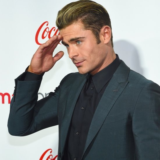 Zac Efron Turns On the Charm in Vegas and Gets Honoured With a Comedy ...
