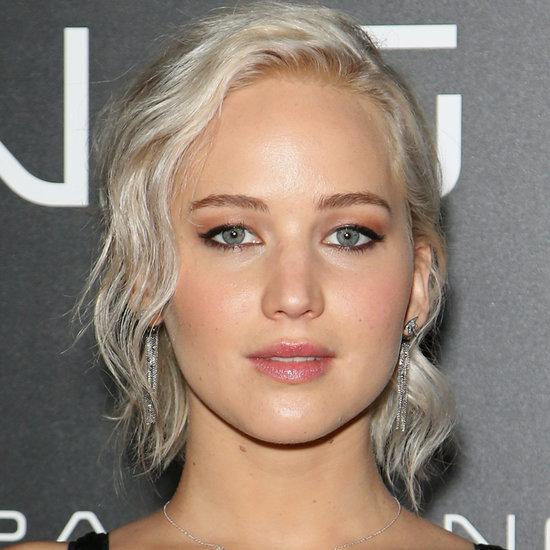 Jennifer Lawrence With Platinum Blonde Hair | Spring 2016