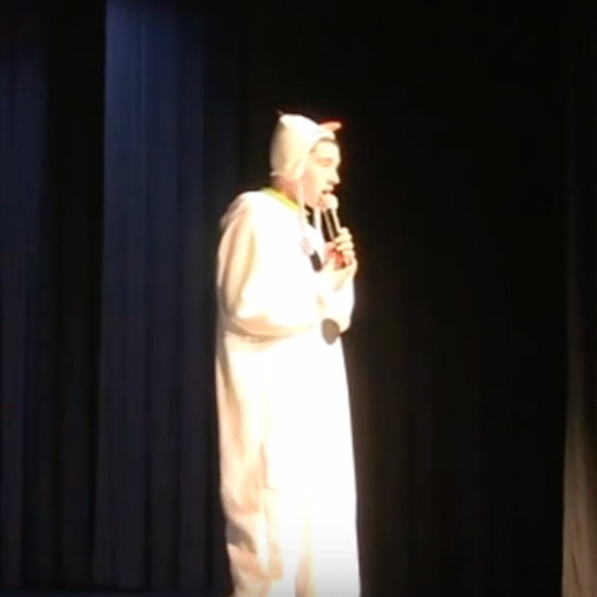 "Boy With Autism Sings ""Let It Go"" From Frozen at Talent Show"