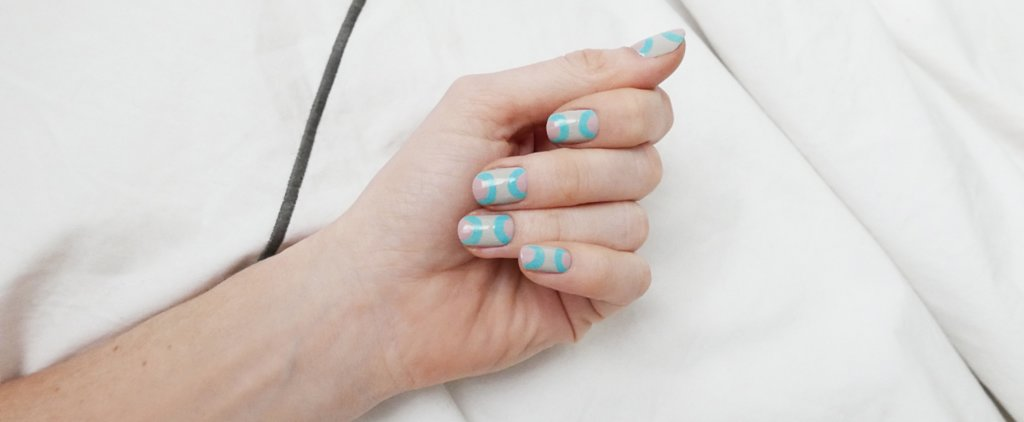 This Mirrored Moon Manicure Is One of the Hottest Nail Art Trends For Spring