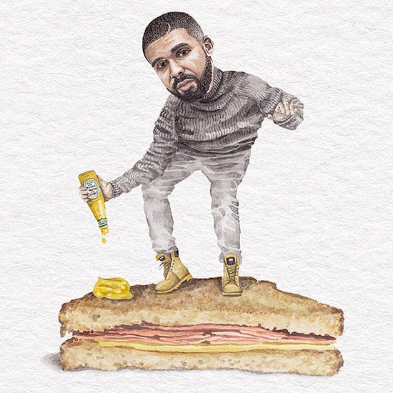 This Instagram Account Flawlessly Combines Your Love for Celebs and Sandwiches