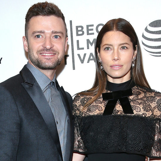 Justin Timberlake and Jessica Biel at Premiere April 2016