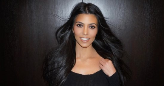 Kourtney Kardashian Will Never, Ever Wear Makeup to the Gym