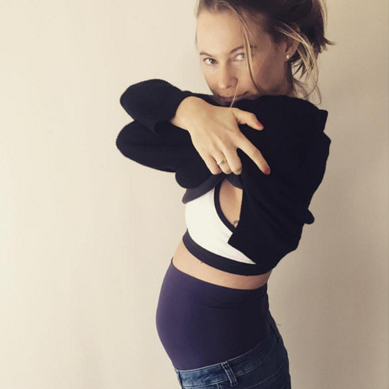 Behati Prinsloo Cutest Baby Bump Pictures on Instagram