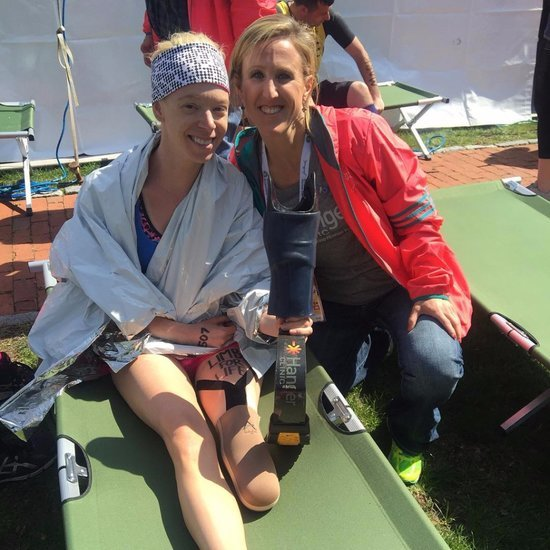 Amputee Bombing Survivor's Boston Marathon Finish