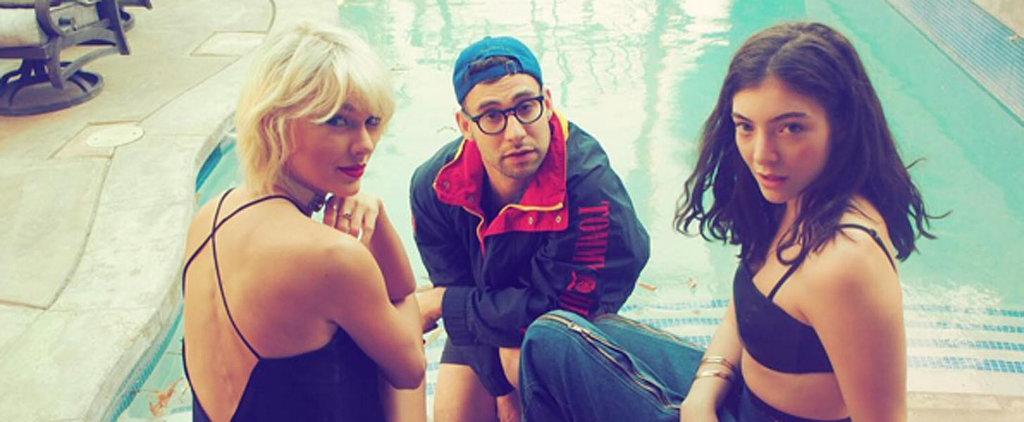 Taylor Swift Fangirls Over Boyfriend Calvin Harris's Coachella Performance With Rihanna