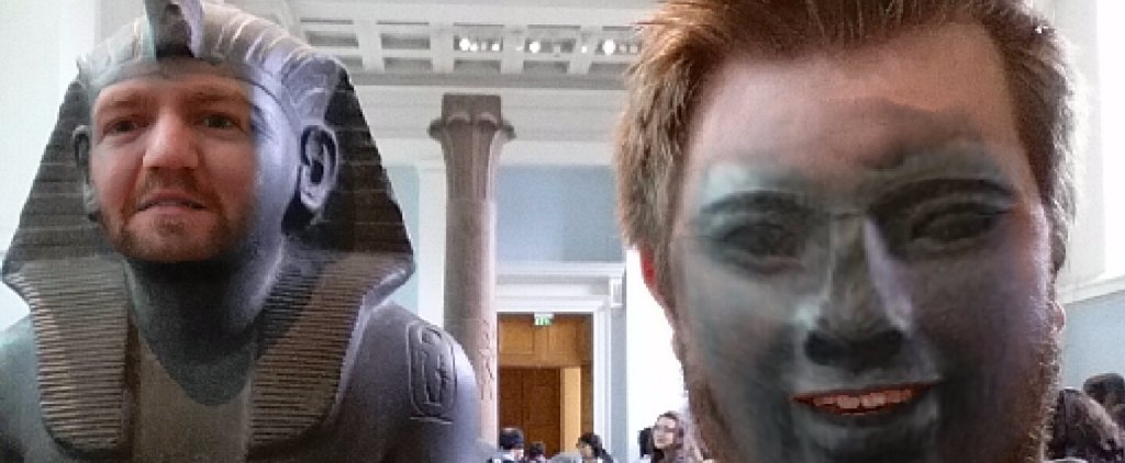 1 Guy Face Swapped With Museum Statues, and the Results Are Glorious