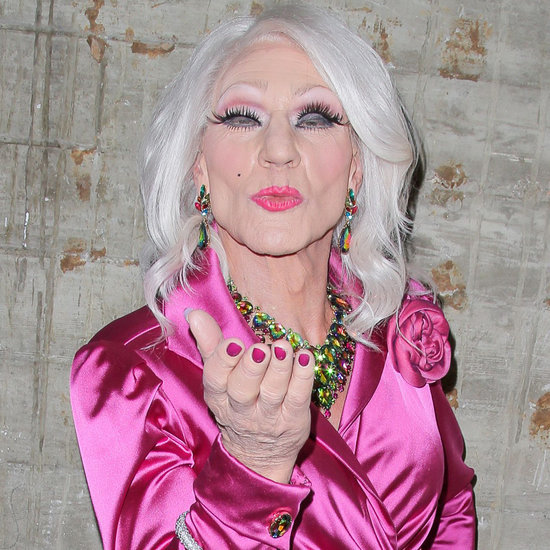 Patrick Stewart in Drag in LA April 2016