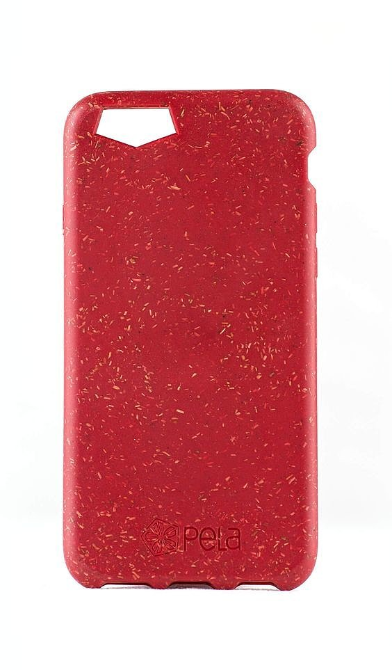 The Pela case for iPhone 6/6S ($40) is smooth, made out of plant-based materials, and donates one percent of its revenue to an environmental nonprofit.