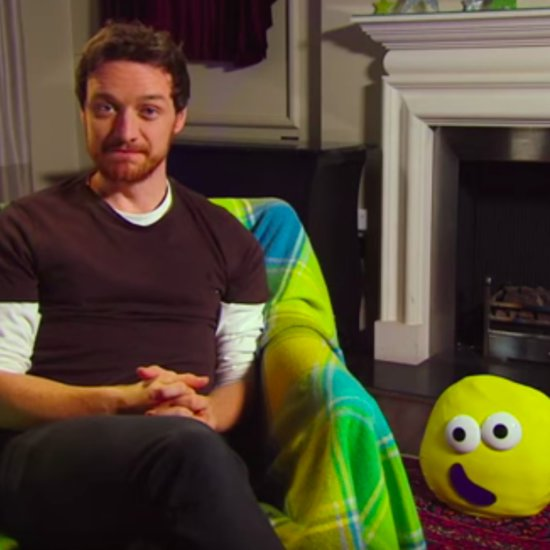 James McAvoy Reading Children's Books
