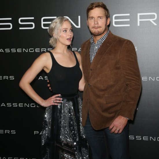 Jennifer Lawrence and Chris Pratt Got Drunk Before Filming Their Sex Scenes