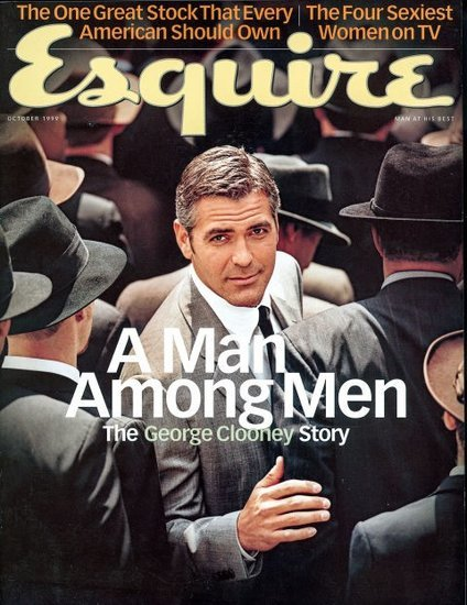 George Clooney promotes Money Monster on his 9th Esquire cover