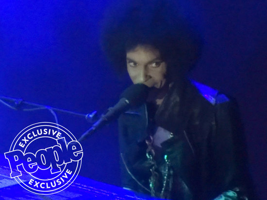 WATCH: Prince at His Final Concert: Star Apologizes to Fans for Canceled Shows -  'I Was a Little Under the Weather'