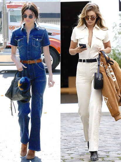 Supermodel Showdown! Every Time Kendall and Gigi Wore the Same Thing