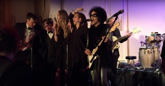 Watch Prince's SNL 40 After-Party Gig