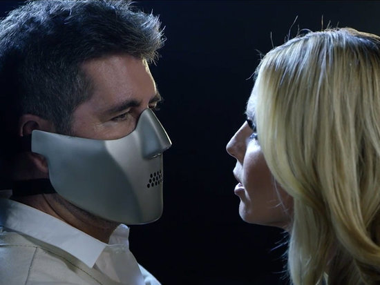 'I Don't Actually Bite!': Simon Cowell Channels Hannibal Lecter as He Meets Fellow America's Got Talent Judges