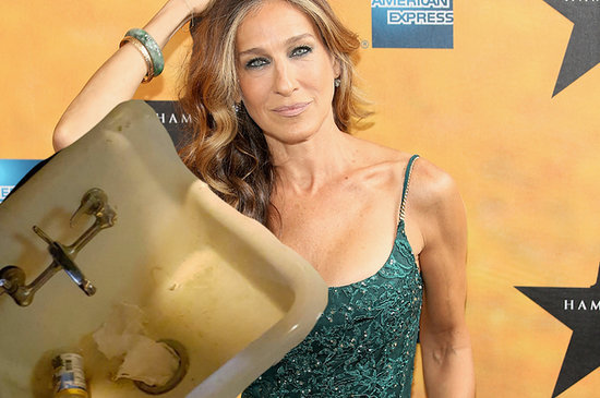 I'm Obsessed With Sarah Jessica Parker Because She Literally Named A Sink
