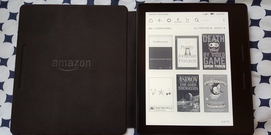 The Amazon Kindle Oasis Is A Beautiful Waste (Review)