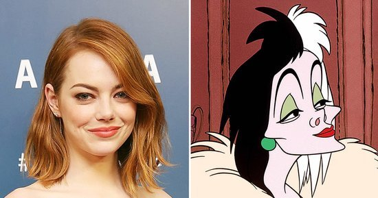 Emma Stone as Cruella de Vil and More Live-Action Fairy-Tale News From Disney