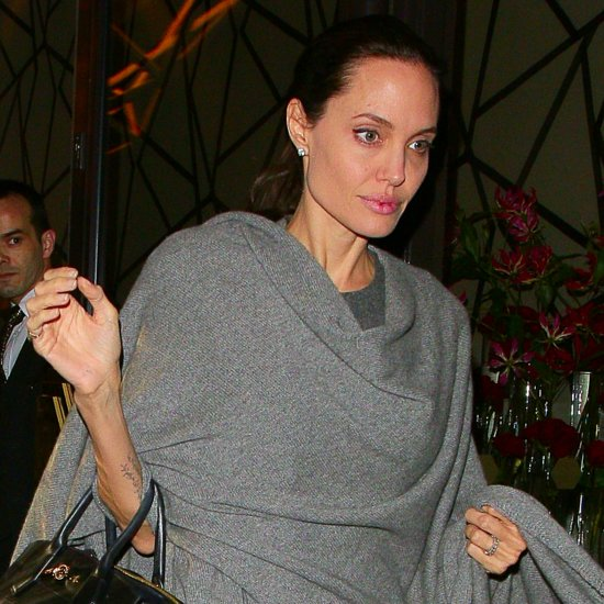 Angelina Jolie Out in London April 2016