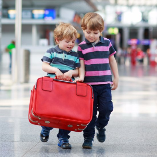 Going Through Airport Security With Kids