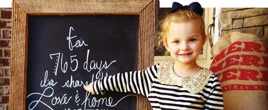 These Sweet Photos of Kids Adopted From Foster Care Are Going to Make You Smile