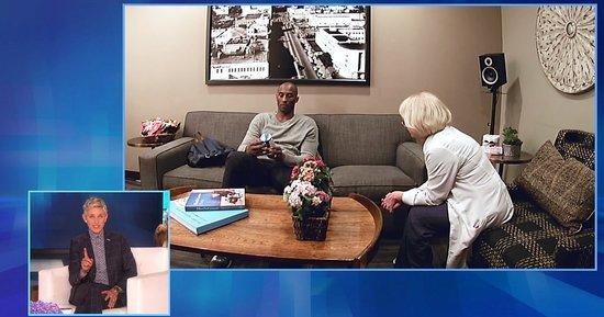 Kobe Bryant, Ellen DeGeneres Play Absurd Hidden Camera Prank on an Unsuspecting Doctor