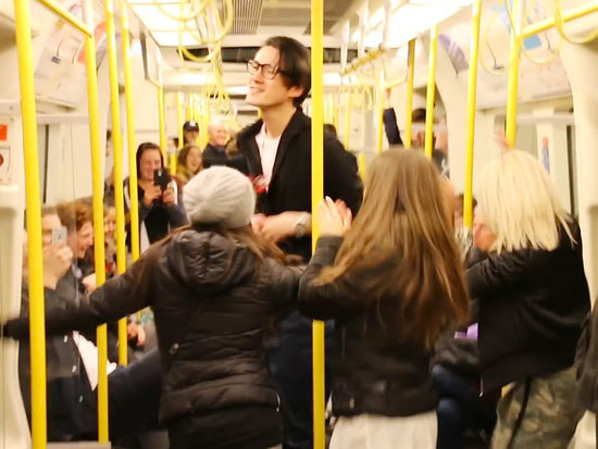 WATCH: Londoner Starts Impromptu Subway Dance Party in Honor of Prince