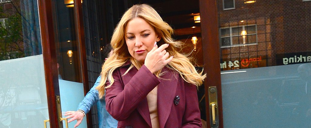 You'll Definitely Have an Audible Reaction to Kate Hudson's Peacock Boots
