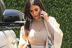 Kim Kardashian Wore a Magnificent Robe