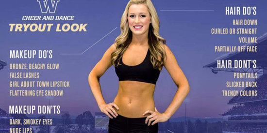 This College Cheerleader 'How-To' Guide Is Complete BS