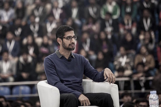 "In His First ""Founder's Letter,"" Sundar Pichai Charts Google's Future"