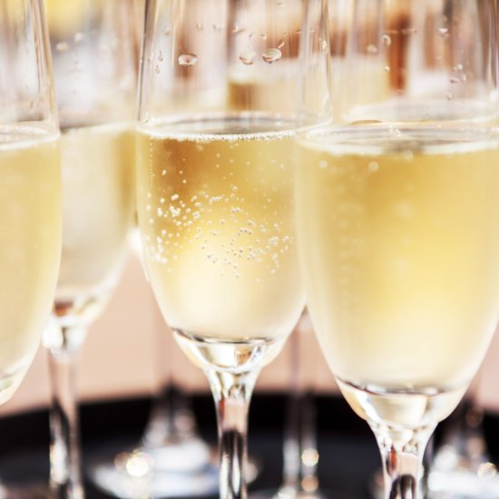 Make Flat Champagne Bubbly Again With This Hack