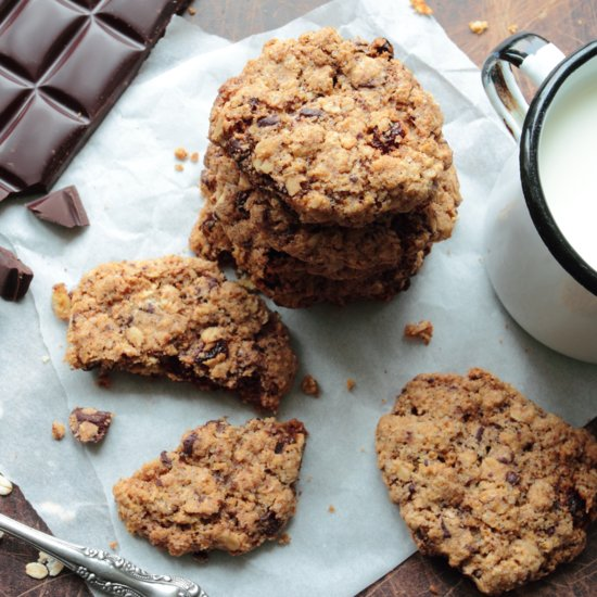You Won't Believe These Oatmeal Chocolate Chip Cookies Are Gluten Free
