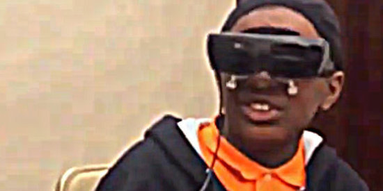 Blind Boy Sees Mom For The First Time, And It's Magical